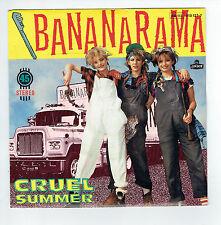 BANANARAMA Vinyle 45T SP CRUEL SUMMER - SUMMER DUB - LONDON 810127 F Reduit