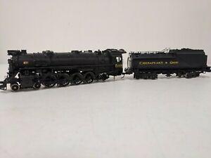 Olympia HO Scale Brass 4-8-2 C&O #549 J-2 Locomotive