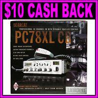 Uniden PC78XL Bearcat 40-Channel CB Radio w/ Front Mic