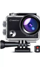 Crosstour Ct9100 4K 20Mp Action Camera With Wifi Eis Ldc Remote Control Sports C