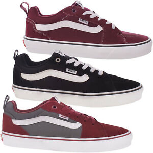 Vans Mens Filmore Low Rise Suede Retro Casual Sneakers Trainers Shoes