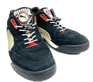 PUMA- Black Palace Guard Suede Trainers Runners Adults UK 9 US 10 Shoes