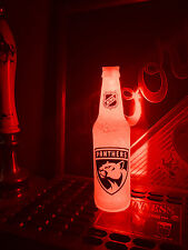 NHL Florida Panthers Hockey 12 oz Beer Bottle Light LED Bar Man Cave