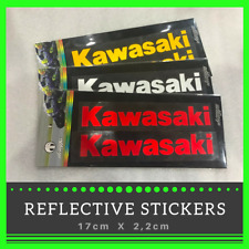 KAWASAKI Reflective Sticker KX ZX10R ZX6R Z1000 Ninja Decal Wheel Tank stickers