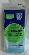 NEW Sears Kenmore 205033 Disposable Canister Vacuum Cleaner Bags