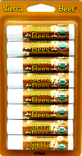 sierra bees organic lip balms cocoa butter * 1 to 8 unit * & extra olive oil