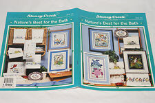 Cross Stitch Pattern Book - Nature's Best for the Bath  #183 by Stoney Creek