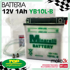 BATTERIA MINARELLI YB10L-BP 12V 11Ah PIAGGIO BEVERLY 200 250 500 X9
