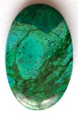 +Untreated 100% Natural Tibet Turquoise Oval Cabochon Gemstone, 54Cts
