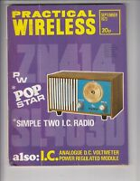 1973 Practical Wireless Magazine / Simple Two IC Radio  /q3