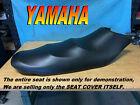 YAMAHA WAVERUNNER VX110 2004-14 NEW seat cover VX 110 Deluxe sport Black ..038B