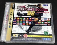 Sega Worldwide Soccer 98 For Japanese Sega Saturn System  *USA Seller*