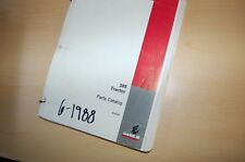 Case 385 Tractor Parts Manual Book Catalog List Spare 1988 8 3332 Farm Owner Oem