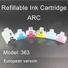 HP363 Refillable ink Cartridges for Photosmart 8250 3110 D6160 D7160 D7260 C5180