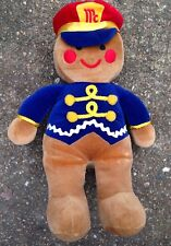 1992 McCORMICK & COMPANY SPICES PROMOTIONAL GINGERBREAD MAN STUFFED ANIMAL, RARE