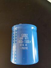 nippon chemi-con capacitor 450v 1500uf