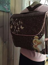 GLOBAL DESIGNS TNKERBELL Baby Girls Diaper Bag Pink Travel Tote  NEW