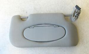 Genuine Used MINI O/S Drivers Side Grey Sun Visor (Vanity lights) R56 R55 #YARD