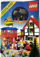 LEGO VINTAGE Legoland 6000 Idea & Instruction Only 1979 COLLECTIBLE Book No Lego