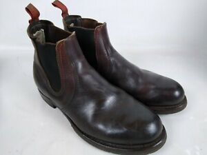 Red Wing Chelsea 2917 Briar Oil Slick Size 10.5 D Mens Made in USA  Used D6