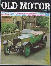 Old Motor magazine 3-4/1966 featuring Rouen, Dodge