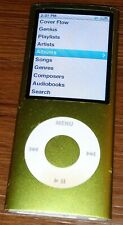 Apple Ipod Nano 4th Generation 8gb Green Tested Over 200 Songs