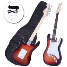 Rose Wood Fingerboard Electric Guitar Sunset +Gigbag +Cord+Strap+Accessor
