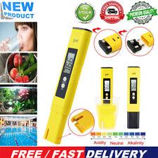 LCD Digital Electric PH Meter Tester Hydroponics Aquarium Pool Water Test Pen
