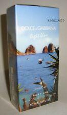 """DOLCE & GABBANA LIGHT BLUE POUR FEMME """"LOVE IN CAPRI"""" EDT 1.6 oz SPRAY 50ml D&G"""