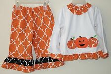 New Lolly Wolly Doodle Pumpkin Outfit / Top & Pants ~ Size 18 Month