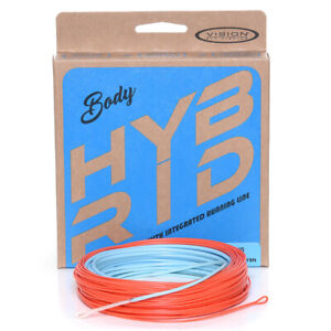 VISION HYBRID FLY LINE. For Singlehand, Switch or Double Hand casting styles.