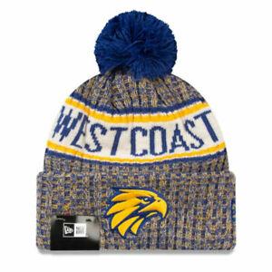 West Coast Eagles Authentic Team Cuff Knit Beanie - New Era - AFL