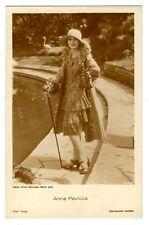 ORIGINAL GERMAN POSTCARD FASHIONABLE ANNA PAVLOVA