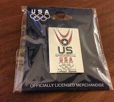 USA Speed Skating Team Pin Italy 2006 Olympic Pin