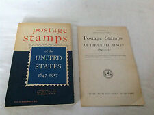 Postage Stamps of the United States 1847-1957 Book with Supplement
