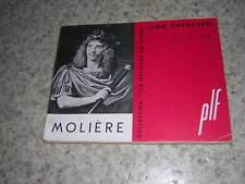 1953.Molière / Léon Chancerel.envoi autographe.bon ex.théatre