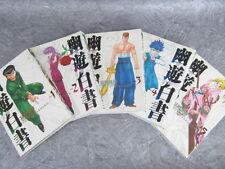 Yu Yu Hakusho Kanzen-Ban Manga Comic Set 1-5 Yoshihiro Togashi Book Japan Sh
