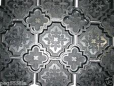 12 Giessformen davon 2 halbierte Randformen für dekorative Orient Platten Nr.200