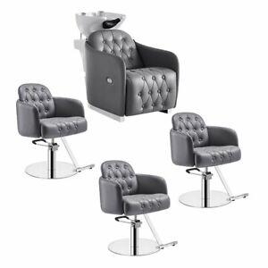 Beauty Salon Package Deals Salon Chair and Shampoo Unit Package