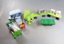 Playmobil® - Zubehör Krankenhaus - Betten, Tisch, Waschbecken, Schrank (1092)