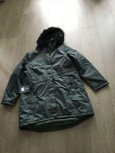 Regatta Lexis Waterproof Insulated Fur Trimmed Parka Darkest Spruce Size 20