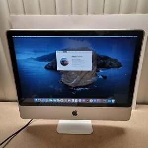 Apple iMac 24inch 2.66ghz 640GB HDD 8GB RAM MacOS CATALINA 10.15