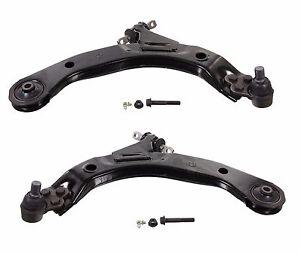 For Chevrolet HHR Pontiac G5 Saturn Set Of 2 Front Lower Control Arms Pair Moog
