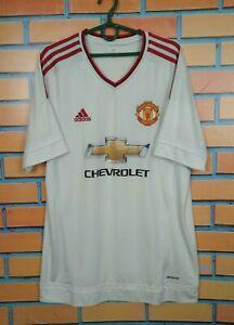 Manchester United Jersey 2015 2016 Away LARGE Shirt Adidas Soccer AI6363