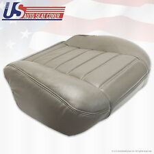 03 04 05 06 07 Hummer H2 Driver Side Bottom' Synthetic Leather Seat Cover Gray