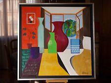 """Tableau art oeuvre unique peinture huile.""""Une vue sur la planete terre"""""""