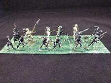 25mm Classic Fantasy Metal Pre-Slotta Minifigs VFW Undead Skeleton Unit #1 (18)