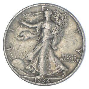 Razor Sharp - 1934 Walking Liberty Half Dollar - Look it up! *294