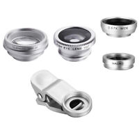 4 In 1 Smart Phone Add-on Camera Lens Fish Eye / Wide Angle / Marco / Telephoto