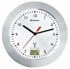 Bresser MyTime Bath weiß Funk Bad Uhr Wand Saugnäpfe Temperaturanzeige Standfuß
